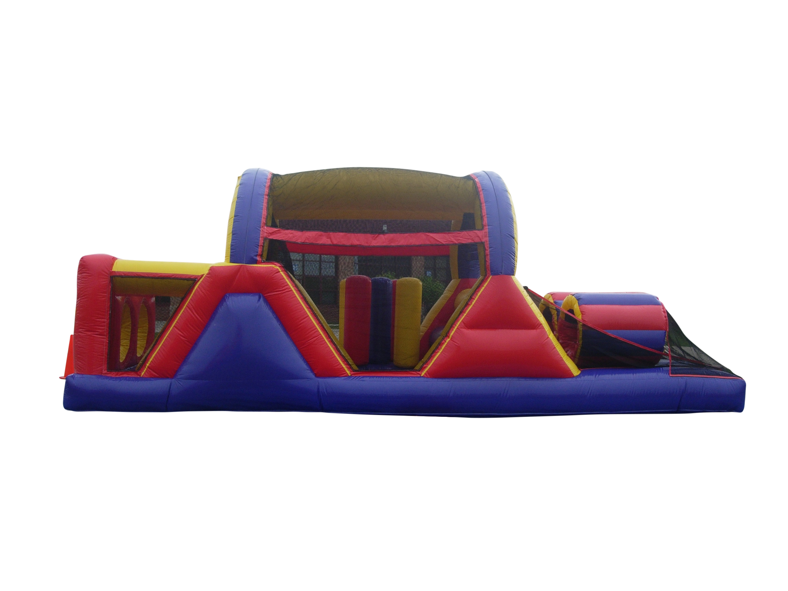 Inflatable Bounce House Obstacle Course Rentals