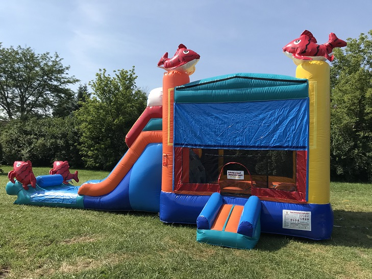 plainfield slide rental | kahuna water slide