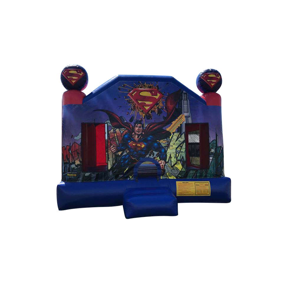 Super Hero Bounce House Rental - Plainfield IL | New Lenox IL